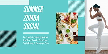 Summer Zumba Social tickets