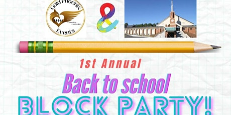Back to School Block Party and Supply Drive tickets