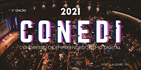 CONEDI 2021- Congresso de Empreendedorismo Digital ingressos