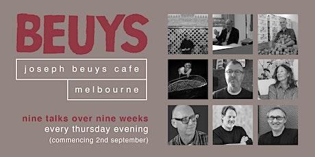 Beuys and Materiality - Emeritus Professor David Thomas tickets