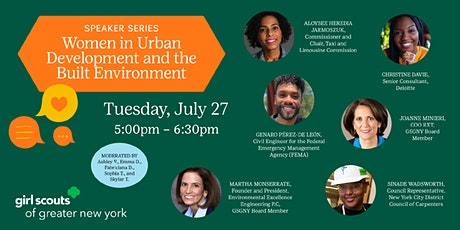 Becoming Me Speaker Series: Urban Development and the Built Environment tickets