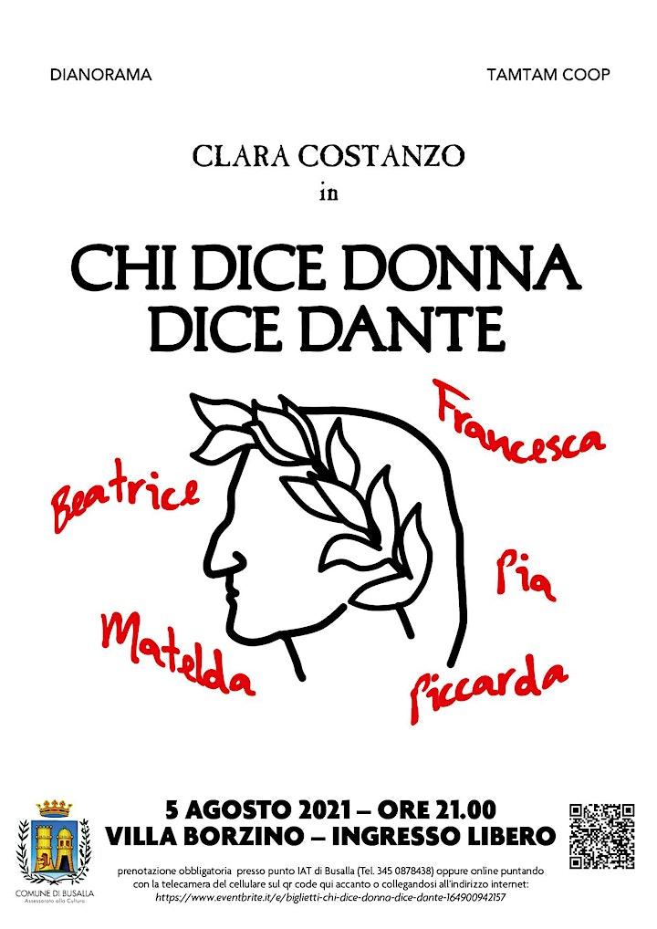 Immagine Chi dice donna dice Dante