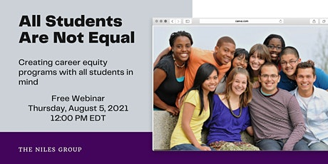 All Students Are Not Equal: Creating Career Equity Plans for All Students tickets