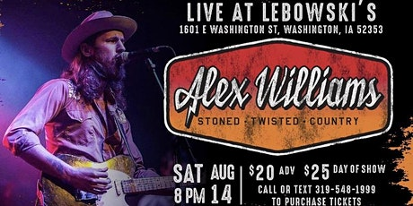 Alex Williams (Washington, IA) tickets