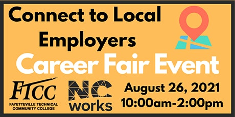 Connect to Local Employers Career Fair tickets
