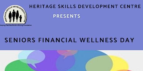 Senior's Financial Wellness Day tickets