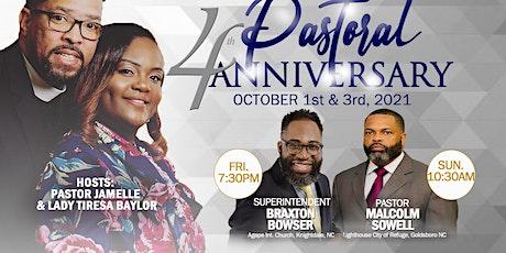 4th Pastoral Anniversary Celebration! tickets