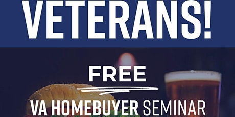 Military & Veteran Homebuyer Seminar - Dave & Buster's Tempe tickets
