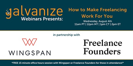 How to Make Freelancing Work for You tickets