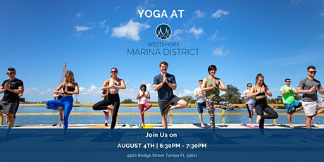 Yoga on the Westshore Marina  District Promenade tickets