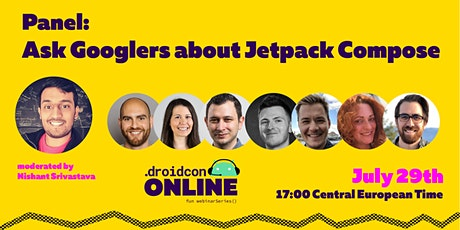 Ask Googlers about Jetpack Compose - A Panel Discussion tickets