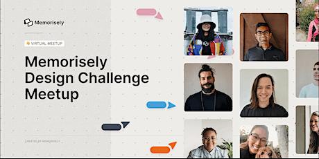 Design Challenge Meetup tickets