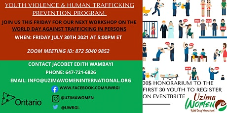 YVHTPP: WORLD DAY AGAINST TRAFFICKING IN PERSONS tickets