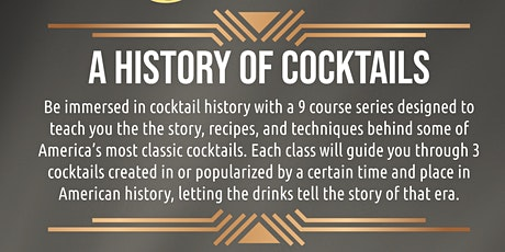 The Dinner Life Presents:  A Guided Mixology Class Series at Edwins Too tickets