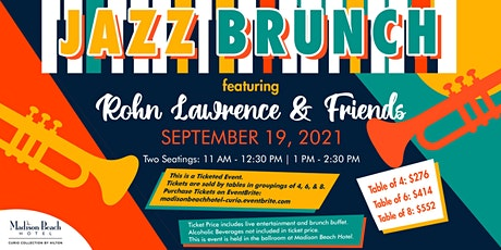 JAZZ BRUNCH featuring Rohn Lawrence & Friends tickets