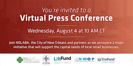 Virtual Press Conference tickets