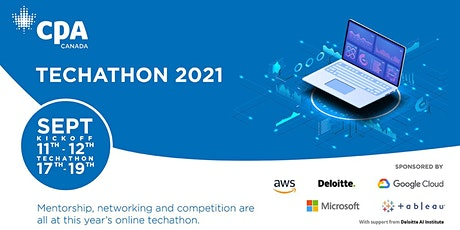 CPA Techathon 2021! A data and AI challenge tickets