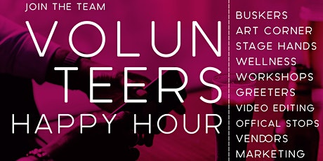 Newark First Fridays Volunteers Happy Hour tickets
