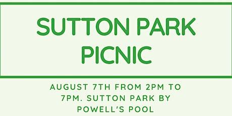 Sutton Park Picnic tickets