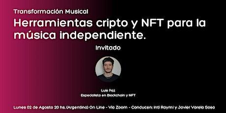 Herramientas cripto y NFT para la música independiente entradas