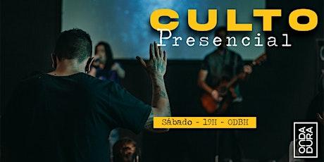 Culto Presencial - Sábado ingressos