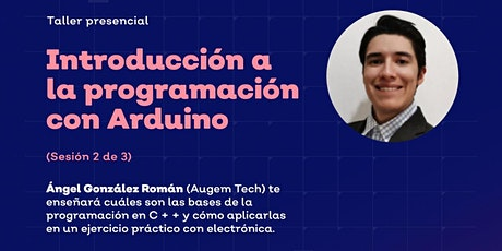 Introducción a la programación con Arduino  2 de 3 boletos
