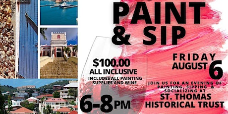 Paint & Sip at the Historical Trust tickets