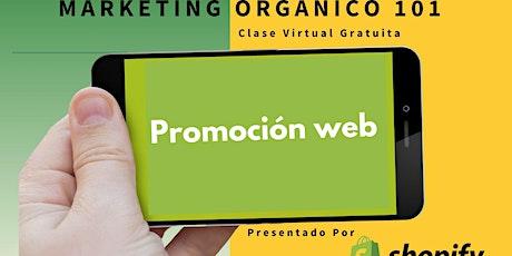 Marketing Orgánico 101 tickets