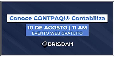 Tu información contable en la nube con CONTPAQi® Contabiliza. tickets