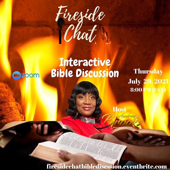 Fireside Chat  An Interactive Bible Discussion image