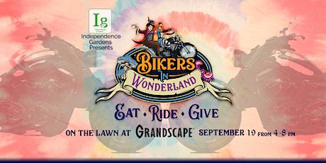 Bikers in Wonderland:  Eat.  Ride.  Give. tickets