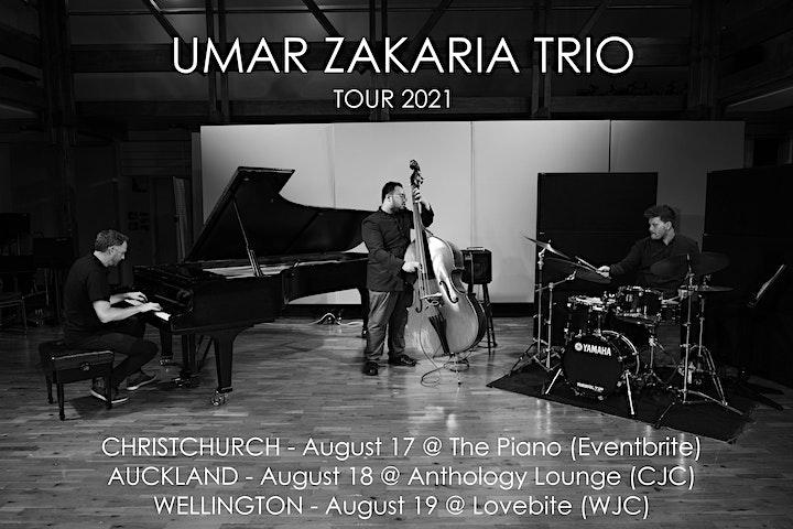 Umar Zakaria Trio with Cheena Rae image