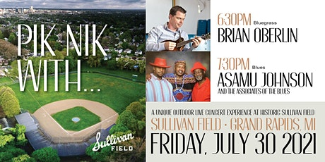 Pik-Nik with... Asamu Johnson and The Associates of Blues + Brian Oberlin tickets