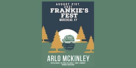 Arlo McKinley INDOOR & OUTDOOR CONCERT ACCESS ONLY @ FRANKIE'S PLAZA tickets