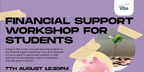 Financial Support for Students Workshop tickets