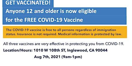 LA County Department of Public Health Mobile Vaccine Unit at ACCC tickets