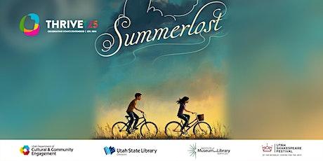 One Book, One Utah: Summerlost by Ally Condie tickets