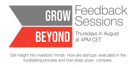 GrowBeyond Feedback Sessions: Team tickets