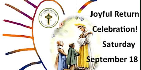 175 Anniversary of La Salette Apparition/Joyful Return to St. Oliver's tickets