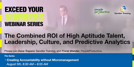 Exceed Your Numbers: Creating Accountability without Micromanagement. tickets