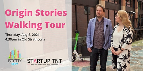 Origin Stories Walking Tour with Story City tickets