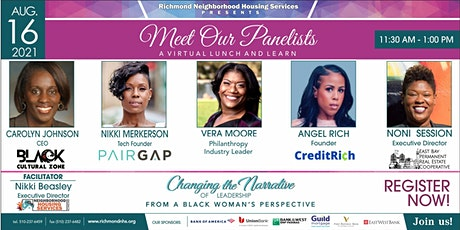 Changing the Narrative of Leadership from a Black Woman's Perspective tickets