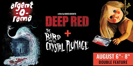 DEEP RED/THE BIRD WITH THE CRYSTAL PLUMAGE  (Double Feature) tickets