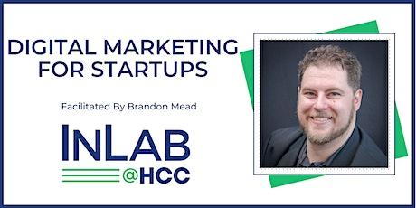 Digital Marketing For Startups - Virtual via Zoom tickets