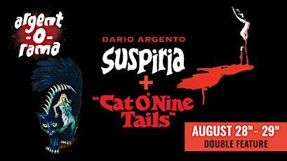 SUSPIRIA/THE CAT O' NINE TAILS  (Double Feature): The Frida Cinema tickets