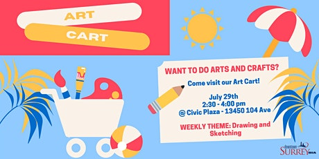Art Cart #2: Drawing and Sketching tickets