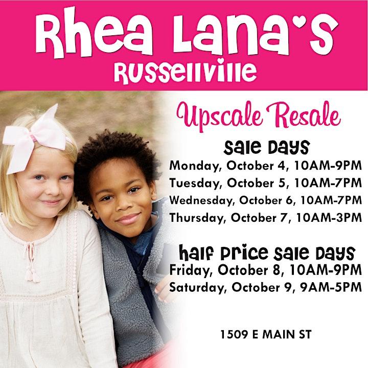 Rhea Lana's of Russellville fall/winter sale! image