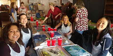 Acrylic Pour Event at Henry's Lounge with Creatively Carrie! tickets