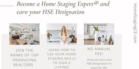 Denver Metro Home Staging Expert® Certification Workshop   14 CE tickets