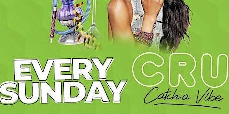 Sunday Funday at CRU Lounge tickets